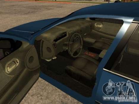 HD Kuruma para GTA San Andreas vista posterior izquierda