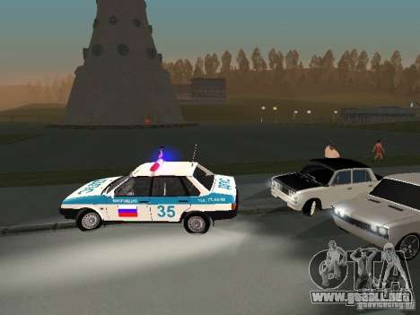 Chicos blancos VAZ 2101 para visión interna GTA San Andreas