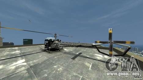 Sparrow Hilator para GTA 4 Vista posterior izquierda