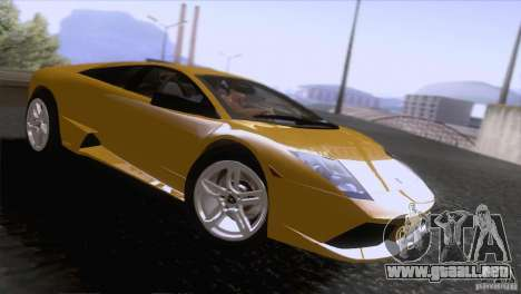 Lamborghini Murcielago LP640 2006 V1.0 para la visión correcta GTA San Andreas