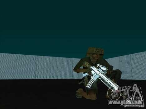 New Weapons Pack para GTA San Andreas tercera pantalla