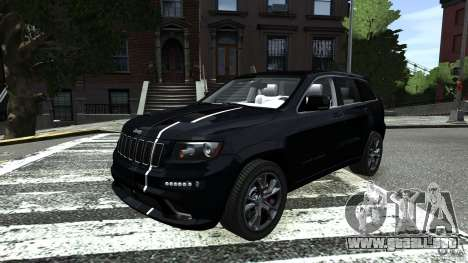 Jeep Grand Cherokee STR8 2012 para GTA 4