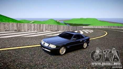 Mercedes SL 500 AMG 1995 para GTA 4 left