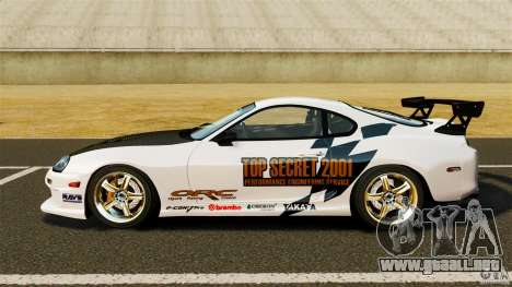 Toyota Supra Top Secret para GTA 4 left