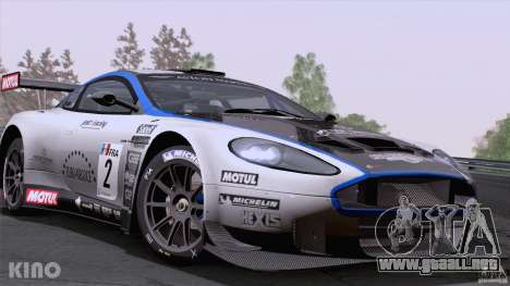 Aston Martin Racing DBRS9 GT3 para vista lateral GTA San Andreas