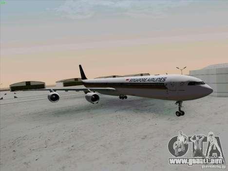 Airbus A-340-600 Singapore para GTA San Andreas