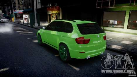 BMW X5 M-Power wheels V-spoke para GTA motor 4