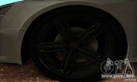 Audi RS6 2009 para la visión correcta GTA San Andreas