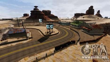 Ambush Canyon para GTA 4 tercera pantalla