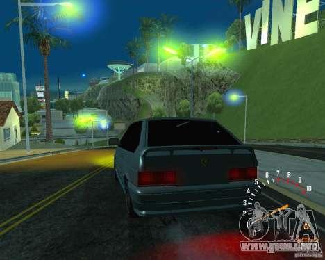 Ferarri 2113 VAZ para GTA San Andreas interior