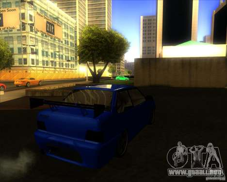 VAZ 2115 coupe para la visión correcta GTA San Andreas