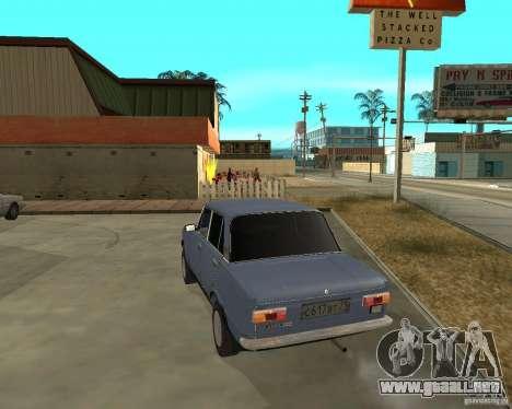 Kopeyka (corregido) para GTA San Andreas vista posterior izquierda