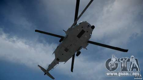 HH-60G Pavehawk para GTA 4 vista lateral