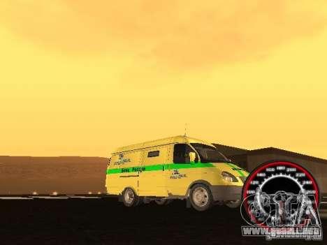 Gacela coleccionista para la vista superior GTA San Andreas