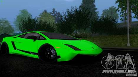 Lamborghini Gallardo LP570-4 Superleggera para GTA San Andreas