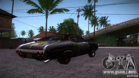 Chevrolet Chevelle SS DC para la visión correcta GTA San Andreas