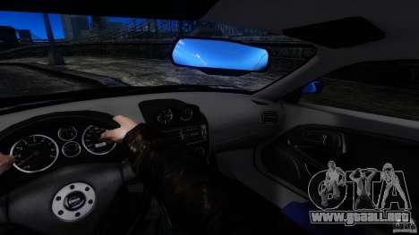 Mitsubishi FTO para GTA 4 vista hacia atrás