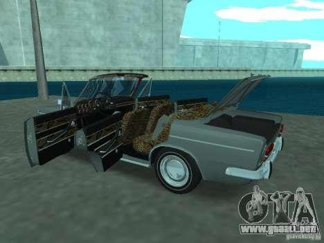 VAZ 2103 Cabrio para visión interna GTA San Andreas