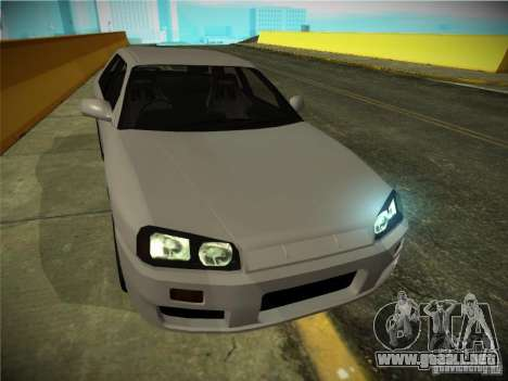 Nissan Skyline ER34 para GTA San Andreas left