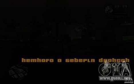 La misión de la madre de CJ para GTA San Andreas tercera pantalla