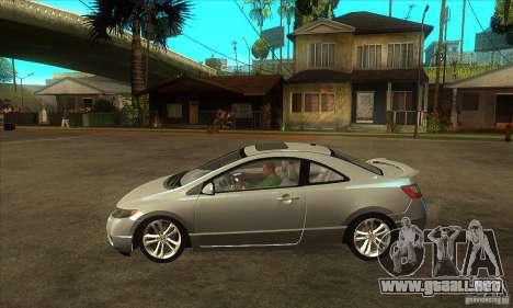 Honda Civic Si - Stock para GTA San Andreas left