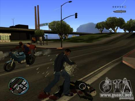GTA IV TARGET SYSTEM 3.2 para GTA San Andreas sexta pantalla