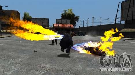 Balas de fuego para GTA 4 segundos de pantalla