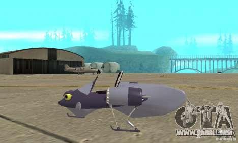 Flying Fish para GTA San Andreas left