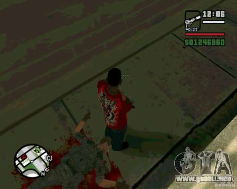 Soldados iraquíes para GTA San Andreas segunda pantalla