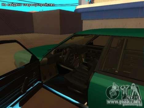 Moskvich 2141 para GTA San Andreas left