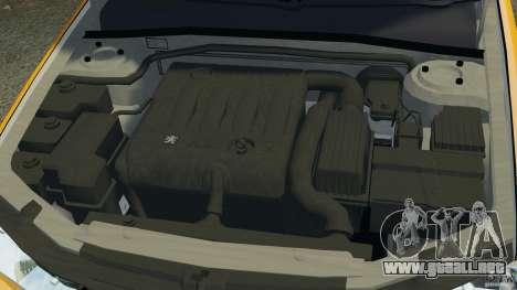 Peugeot 406 Taxi para GTA 4 vista superior