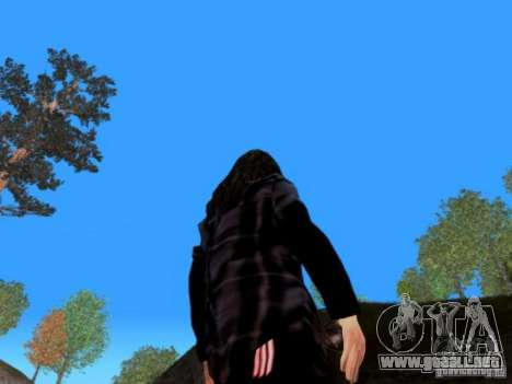 Skrillex para GTA San Andreas sucesivamente de pantalla