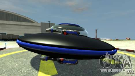 UFO neon ufo blue para GTA 4 left