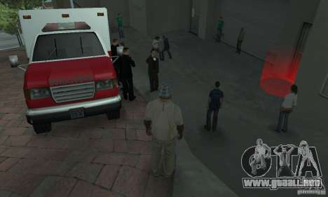 Calle lucha v2 para GTA San Andreas segunda pantalla