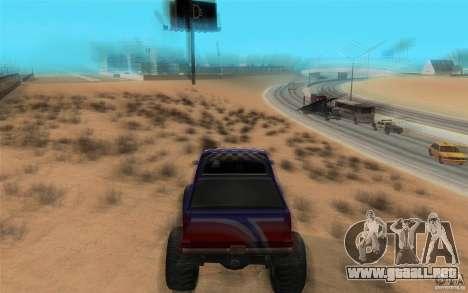 Maximum speed para GTA San Andreas segunda pantalla