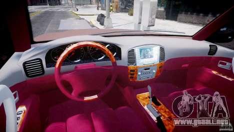 Toyota Land Cruiser 100 Stock para GTA 4 visión correcta