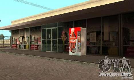 Cola Automat 1 para GTA San Andreas segunda pantalla