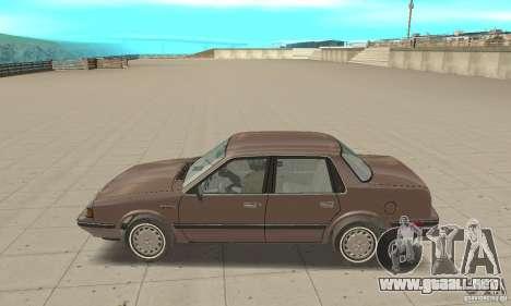 Oldsmobile Cutlass Ciera 1993 para GTA San Andreas vista posterior izquierda