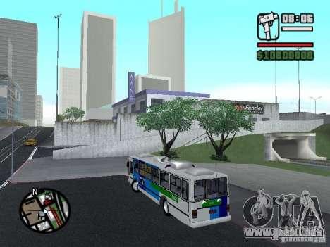 Cobrasma Monobloco Patrol II Trolerbus para GTA San Andreas left