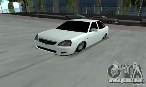 Lada Priora Low para GTA San Andreas