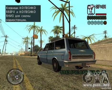 NewFontsSA 2012 para GTA San Andreas octavo de pantalla