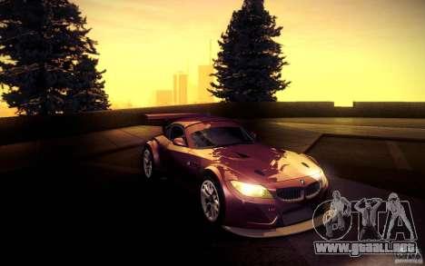 BMW Z4 E89 GT3 2010 para GTA San Andreas