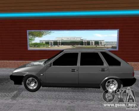 VAZ 2109 Sputnik para GTA San Andreas left