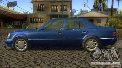 Mersedes-Benz E500 para la visión correcta GTA San Andreas
