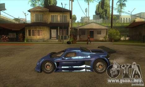 Gumpert Apollo Sport para GTA San Andreas left
