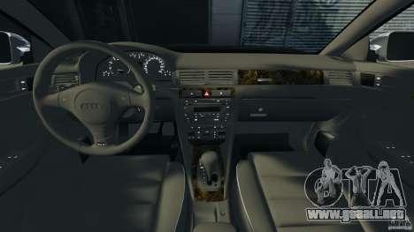 Audi RS6 2003 para GTA 4 vista hacia atrás