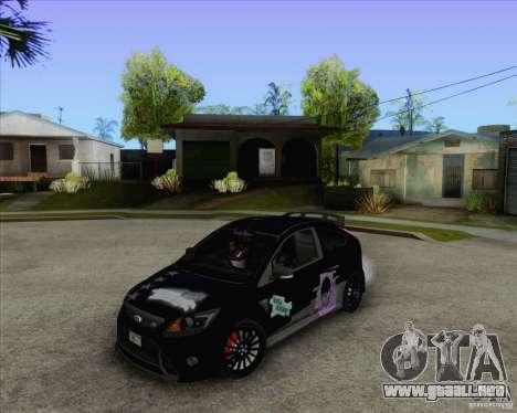Ford Focus RS para la visión correcta GTA San Andreas