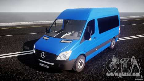 Mercedes-Benz ASM Sprinter Ambulance para GTA 4