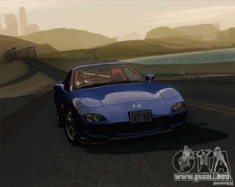 Optix ENBSeries para PC de gran alcance para GTA San Andreas sucesivamente de pantalla