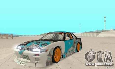 Nissan Silvia S13 NonGrata para GTA San Andreas